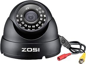 ZOSI 2.0MP FHD 1080p دوربین گنبدی در فضای باز داخلی (ترکیبی 4 in 1 CVI / TVI / AHD / 960H آنالوگ CVBS)، 24PCS LED ها، 65ft IR دید در شب، دوربین امنیتی دوربین با زاویه عرض 105 درجه