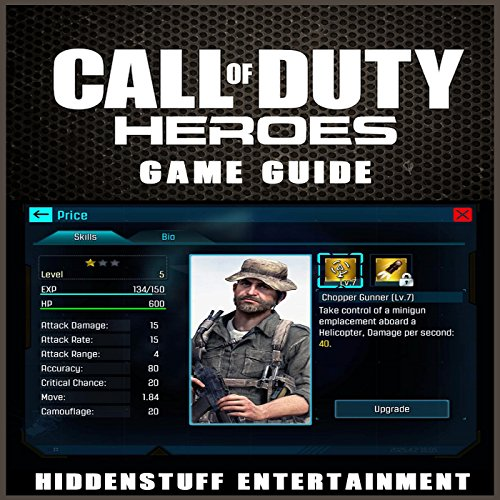 Call of Duty Heroes Game Guide audiobook cover art