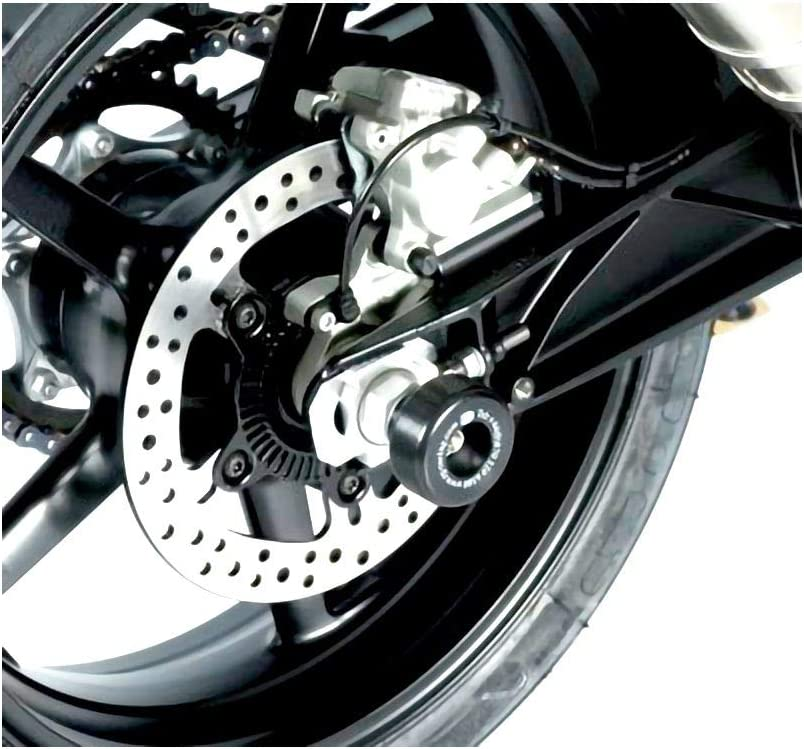 RG Racing Rear Same day shipping Axle Max 66% OFF Sliders 690DUKEABS 15-18 Black for KTM