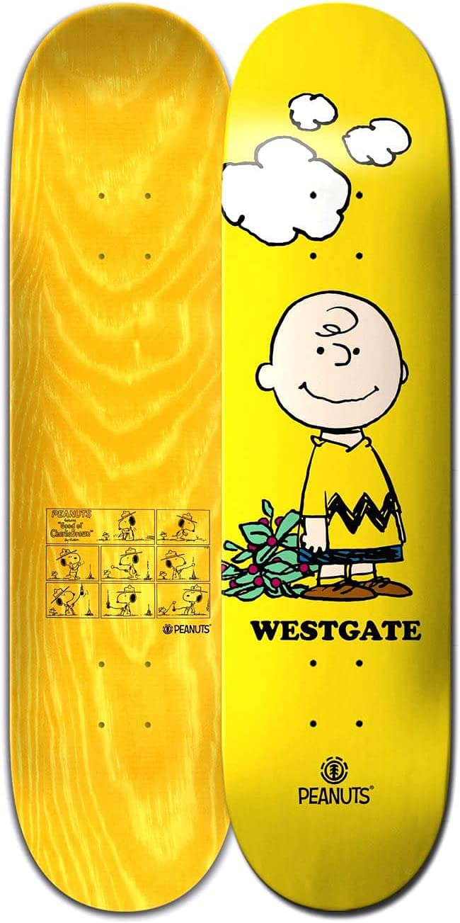 Ranking TOP14 Element X Peanuts Charlie Brown Sz Skateboard Deck Westgate 8in 2021 autumn and winter new