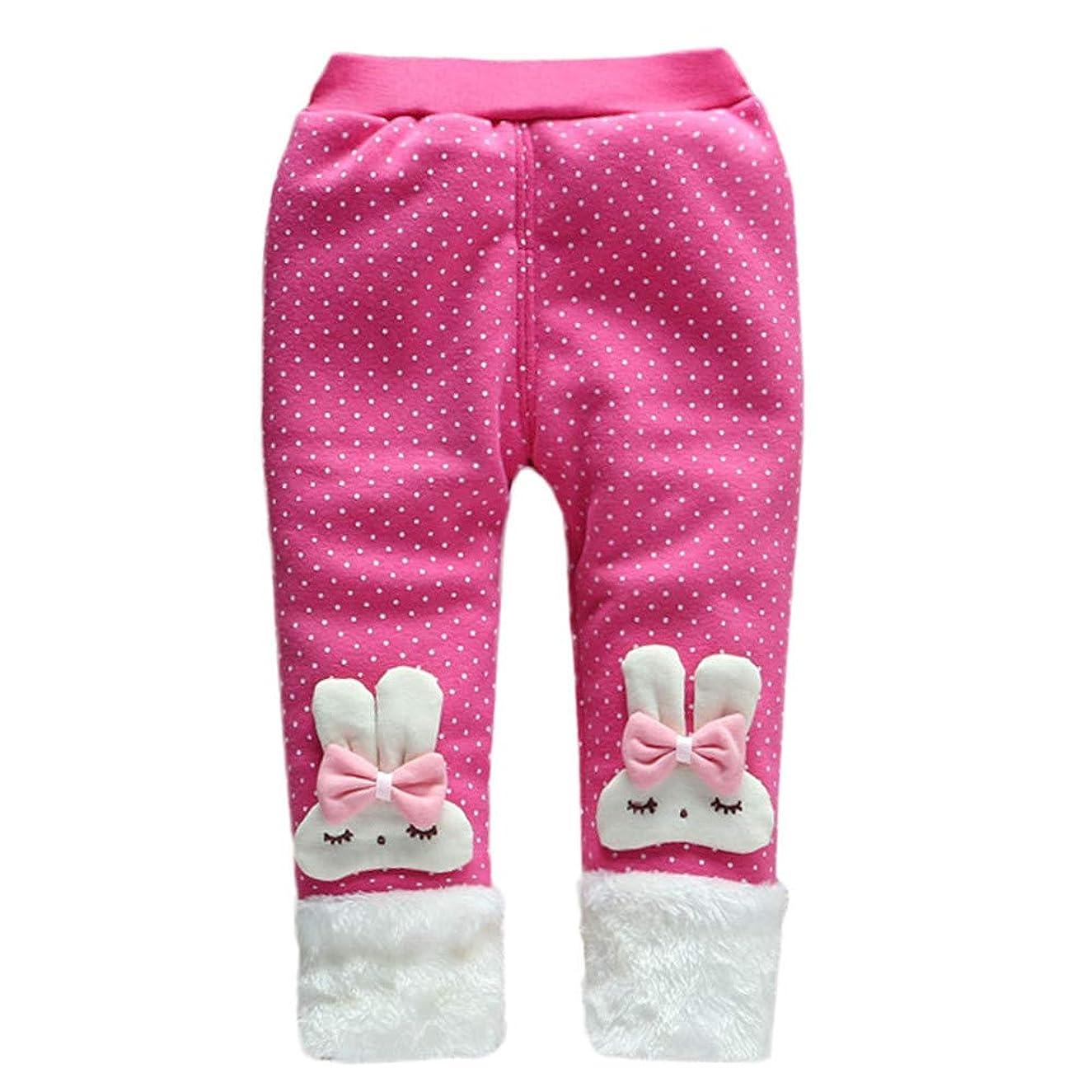 XUANOU Trendy Leg Warmer Baby Girl Pants Child Cartoon Bowknot Pants Trousers Le