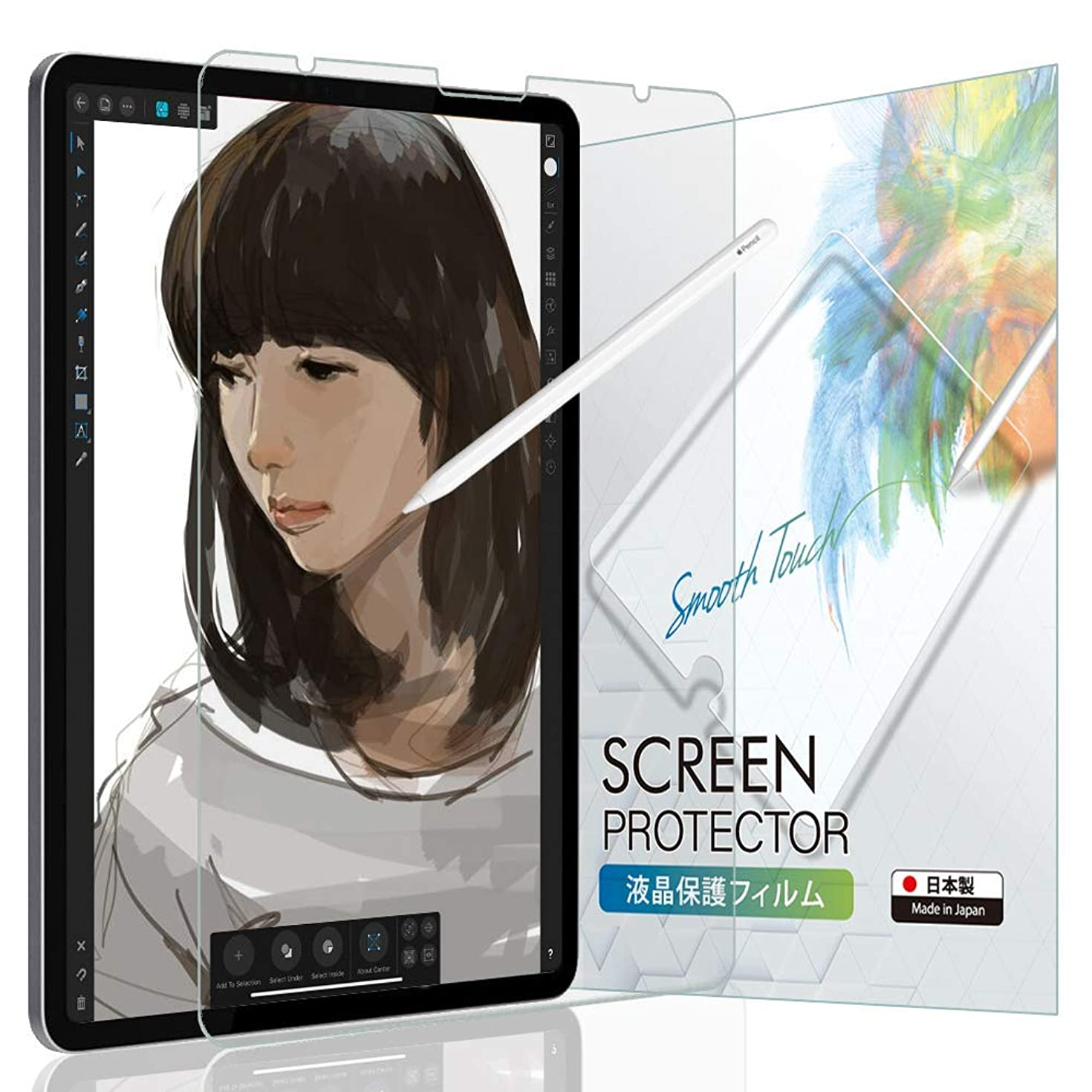 BELLEMOND Paper-Like Screen Protector for iPad Pro 11