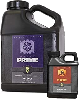 Heavy 16 Prime Gallon + Fire Pint - Hydroponic Bloom Boosting Nutrient Combo