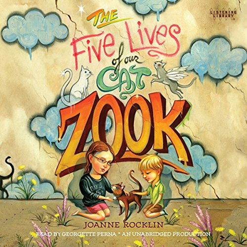 The Five Lives of Our Cat Zook audiobook cover art