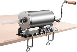 GOFLAME 3.6L Horizontal Sausage Stuffer Maker for Home Resturant Commercial Stainless Steel Maker Meat Filler Kit