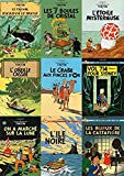 YYLPLLE Rompecabezas Tintín Rompecabezas De Madera 1000 Piezas Aventura Comics Rompecabezas De Dibujos Animados Decoración del Hogar 50X75Cm