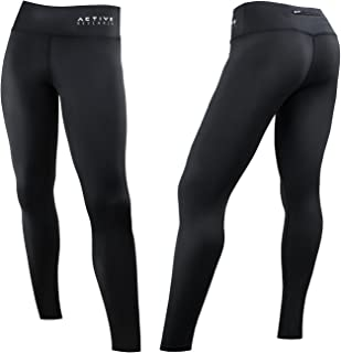Women's Compression Pants - Athletic Tights – Leggings for Yoga, Gym, Running w/Hidden Pocket