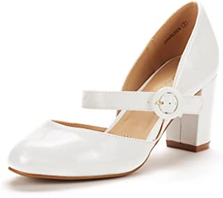 Best white mary jane shoes heels Reviews