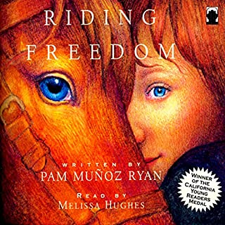 Riding Freedom audiobook cover art