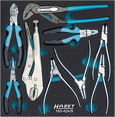 Hazet 163-424/9 tangen-set, aantal gereedschappen: 9