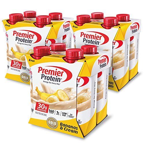 Premier Protein 30g Protein Shake, Banana, 12 Count