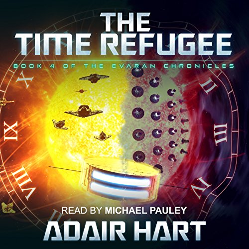 The Time Refugee audiobook cover art