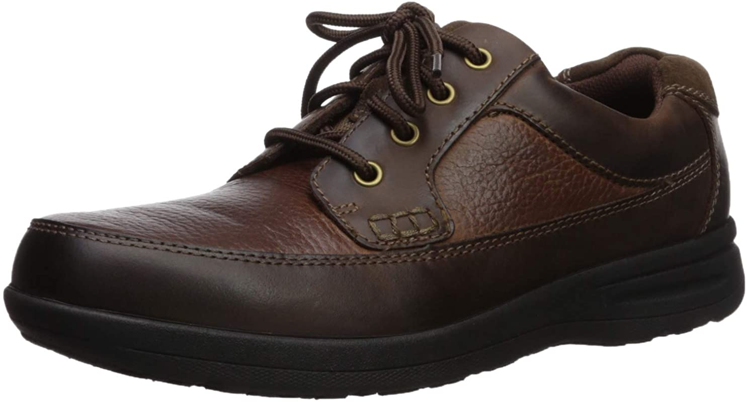 Nunn Bush Men's Cam Moc Toe and Courier shipping NEW before selling free Casual Comfort Lace-up with Gel