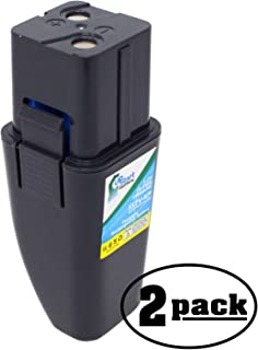 2 Replacement Battery for Swivel Sweeper RU-RBG - Compatible with Ontel Swivel Sweeper G1, Ontel Swivel Sweeper G2, Ontel Swivel Sweeper RU-RBG