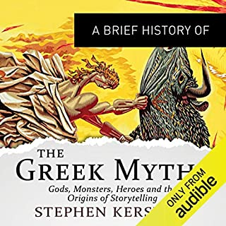 A Brief History of the Greek Myths cover art