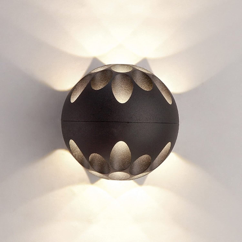 Rishx Moderne kreative led nachttisch schlafzimmer eisen kunst wandleuchte nordic fashion kugelfrmige acryl wandleuchte beleuchtung gang gang wohnzimmer restaurant wand laterne