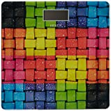 Venus EPS-1898 Electronic Digital LCD Fitness Weight Weighing Scale, Weave (Multi Color)