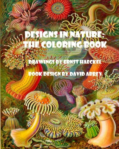 Designs in Nature: the coloring book