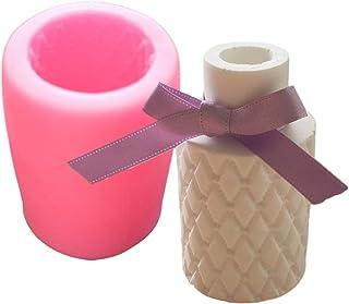 【Ever garden】 花瓶 キルティング シリコンモールド レジン アロマストーン 手作り 石鹸 キャンドル 樹脂 粘土 オルゴナイト シリコン モールド 型 抜き型