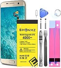 Galaxy S7 Edge Battery, SHENMZ 4000mAh Li-Polymer Replacement Battery for Samsung Galaxy S7 Edge EB-BG935ABE G935V G935P G...