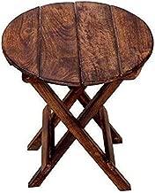 Fara Creations Beautiful Wooden Folding Side Table