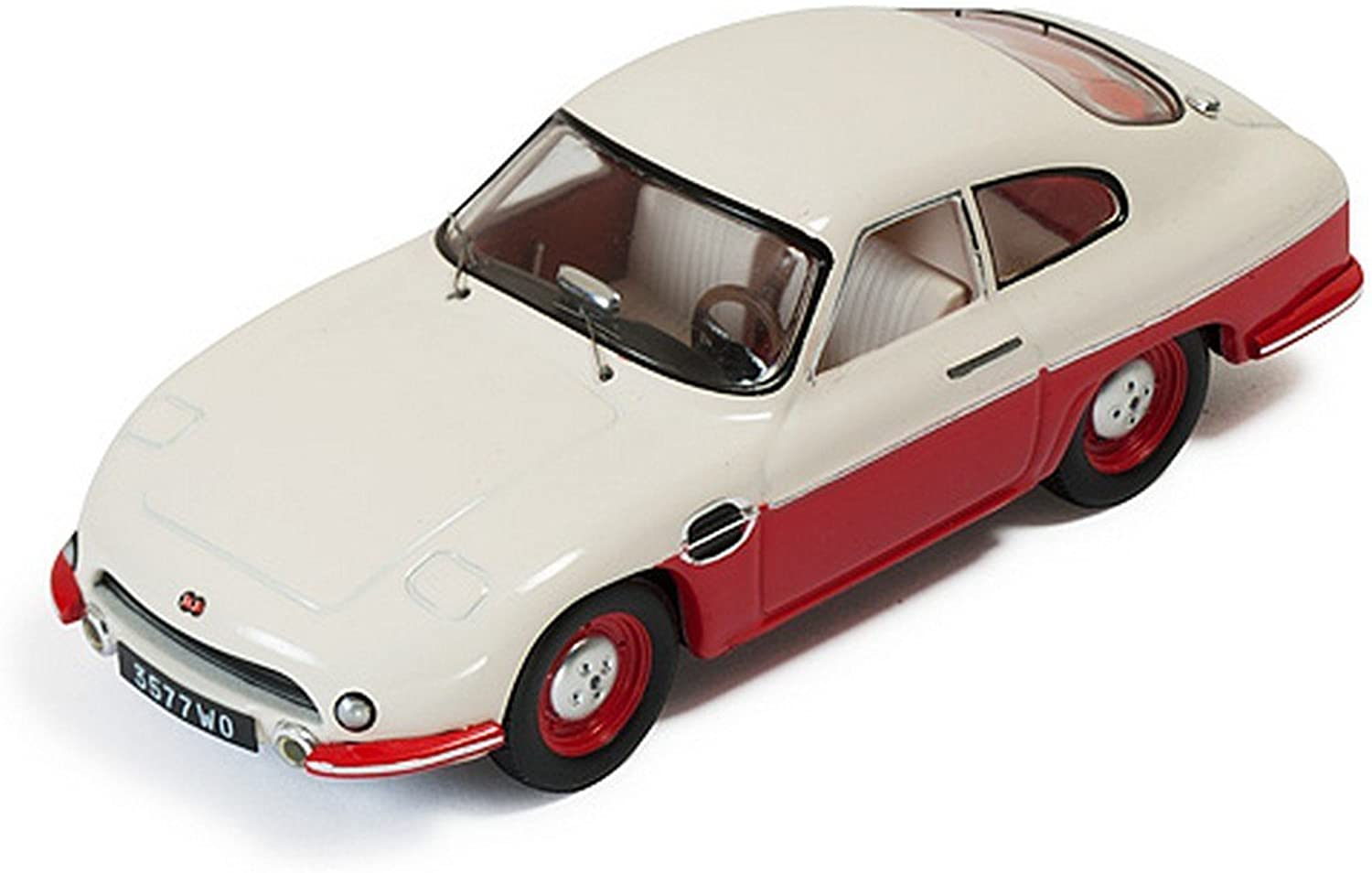 Ixo Model CLC264 Panhard DB HBR5 1957 BEIGE and rot Closed Lights 1 43 DIE CAST B01MTA1N49 Hervorragende Eigenschaften  | Neuartiges Design