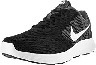 NIKE Mens Revolution 3 Running Shoe,Grey/Black,14 D(M) US