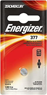 Energizer 377 1.55 Vcc Silver Oxide Battery
