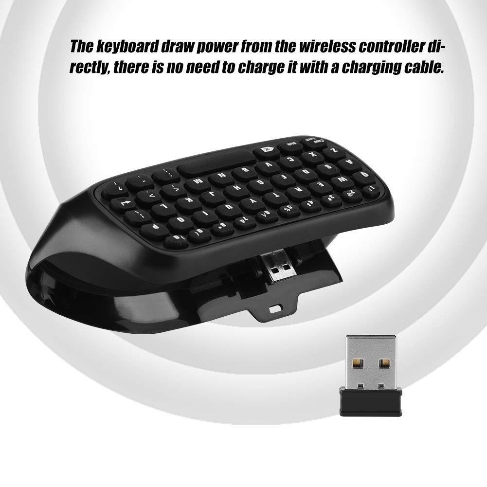 Equipo Electronico Teclado inalámbrico Xbox One, teclado Pequeño controlador inalámbrico con receptor USB 2.4G Teclado consola de juegos Controlador portátil de juegos for Xbox One. Ordenador: Amazon.es: Electrónica