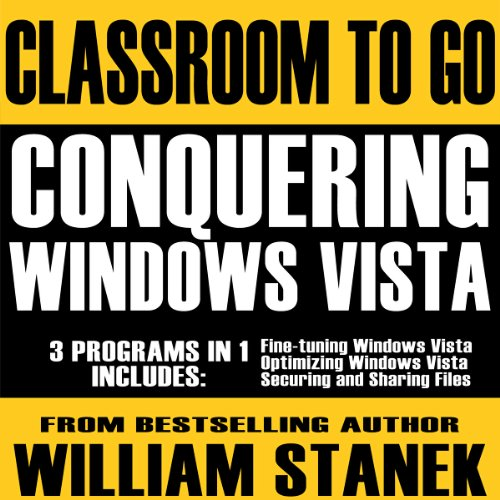 Conquering Windows Vista Classroom-to-Go audiobook cover art