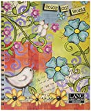 Artisan Color My World Spiral Bound Sketchbook by Lisa Kaus, 10 x 11.25 Inches (4006000)
