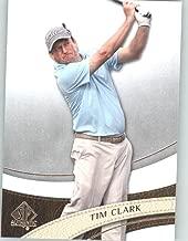 2014 SP Authentic Golf #22 Tim Clark - PGA Tour Golfer (Sports Trading Cards)