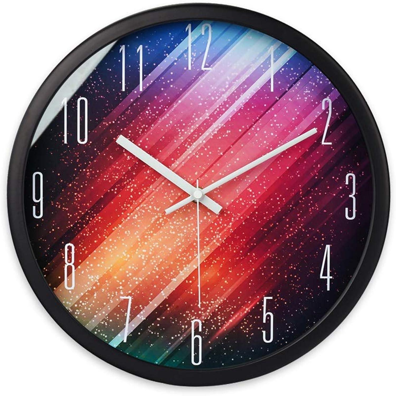 Centro comercial profesional integrado en línea. Art wall-clock XZGang Reloj de Parojo Parojo Parojo de Metal silencioso, (25.5-35.5CM) Bar del Hotel Sala de Estar Restaurante Reloj de Parojo Decorar el Lugar de la Vida (Color   Negro, Tamao   35.5  35.5CM)  mejor calidad mejor precio