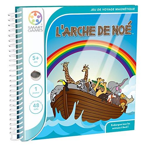 """Smartgames SGT 240 FR - Gioco di società """"L'Arche de Noé"""", 48 sfide"""