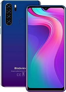 Blackview A80 Pro SIMフリー スマホ 本体 6.49インチ 4GB + 64GB Android 10.0 デュアルSIM スマートフォン 携帯電話 8MP+13MPカメラ【1年間保証】 ブルー