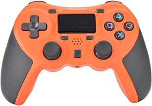 Mando Inalámbrico Gamepad Wireless Controlador Inalámbrico Compatible con Playstation 4 Dualshock 4 con Los Botones De Activación Playstation 4 y Windows (amarillo)