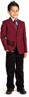 Boys School Uniform Blazers Teflon Coated Blazer Coat Jacket