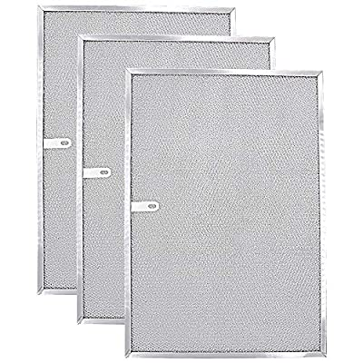 """AMI PARTS BPS1FA36(3-Pack) Range Hood Filter Compatible with Broan Model 11-3/4"""" X 17-1/4"""" X 3/8"""""""