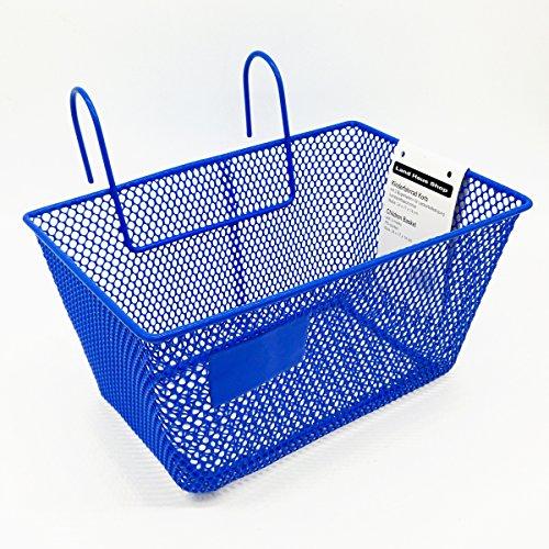 Land-Haus-Shop® Kinderfahrradkorb Metall, beschichtet, Kinder Fahrrad Einkaufs Korb