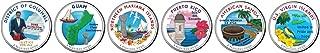 American Coin Treasures 2009 Colorized Washington D.C. and U.S. Territories Quarters