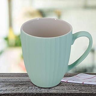 Kookee™ Ceramic Coffee Mug, Matte Finish, Turquoise - 325ml (BPY013)
