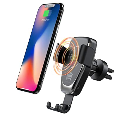 ANKCE Wireless Car Charger Mount - Fast Car Wir...