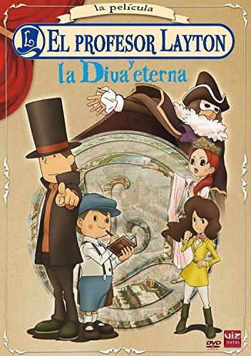Profesor Layton Y La Diva Eterna [DVD]