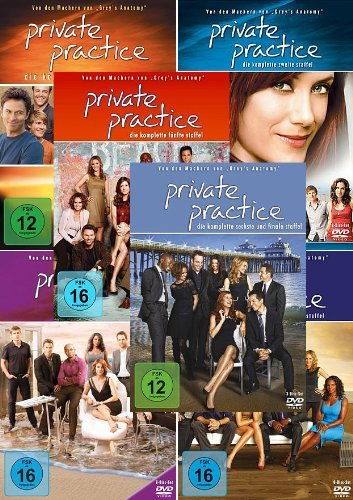 Private Practice - Die komplette 1. + 2. + 3. + 4. + 5. + 6. Staffel (30-Disc / 6-Boxen)