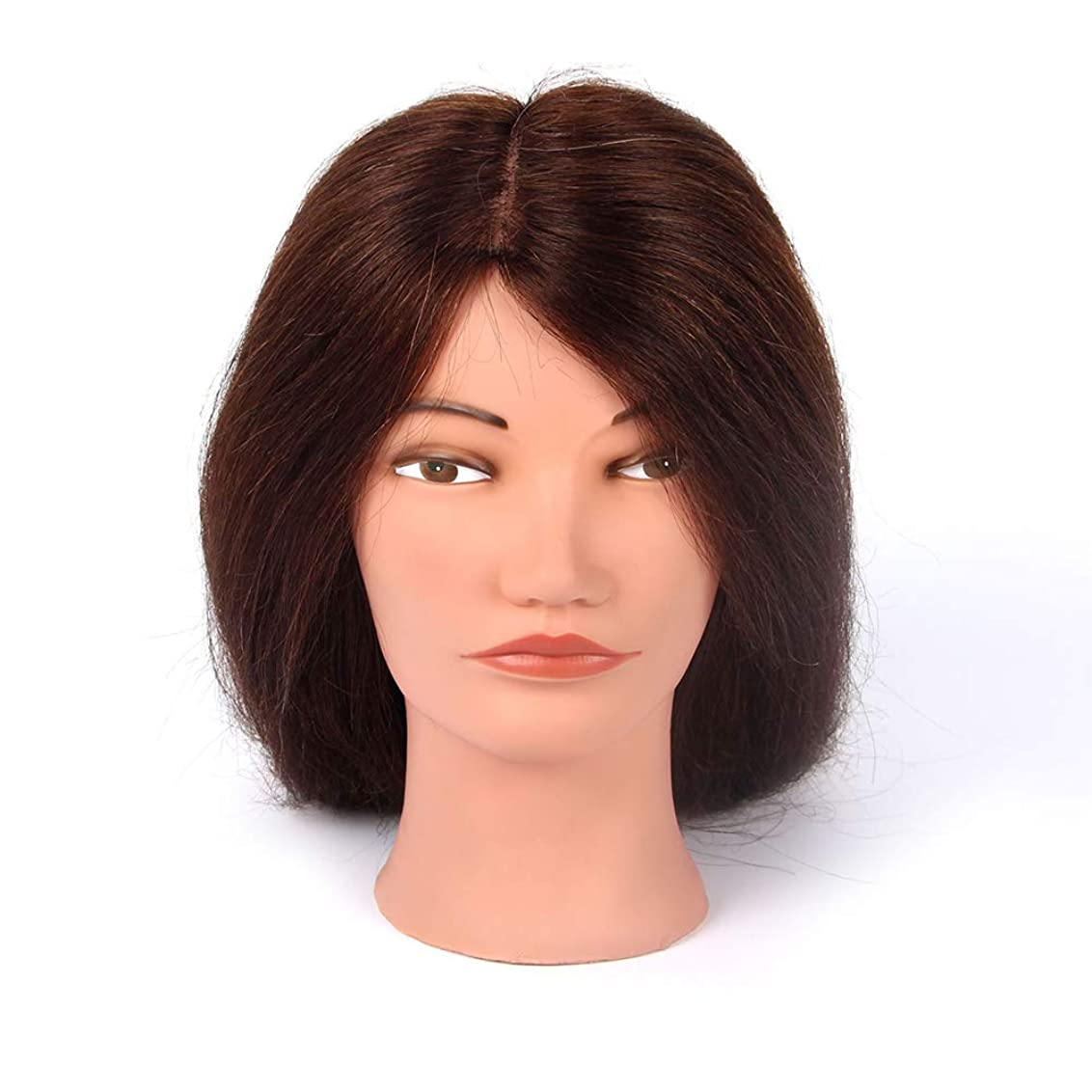 アンケート時々ドア理髪練習ヘッド吹くホットロールダミーヘッドパーマ髪の染め指導ヘッドメイクアップヘアスタイリングモデルヘッド