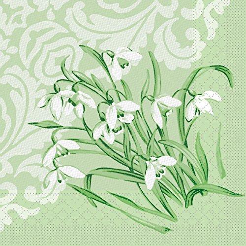 Vlag HORECA servet Melanie | Tissue Deluxe servet 40 x 40 cm | luxe wegwerpservet voor de lente en feestjes