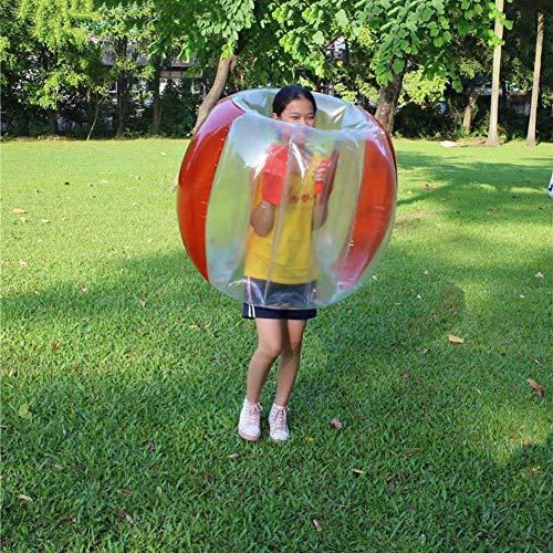 YXYOL Bola de hámster Humano Parachoques Inflable para Adultos y niños, Burbuja de Bola de Parachoques Inflable, Juguete Inflable de balón de fútbol de Burbuja de 90 cm de diámetro