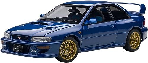 AUTOart 78602 Subaru Impreza 22B Blau up