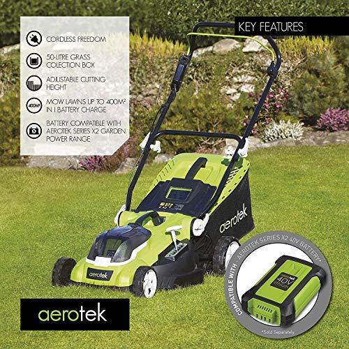 Aerotek Cordless Lawnmower Power