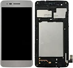 LCD display Digitizer Touch Screen Assembly For LG M210 MS210 Aristo LV3 K8 2017 (Silver with Frame)